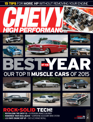 Chevy High Performance Feb 2016