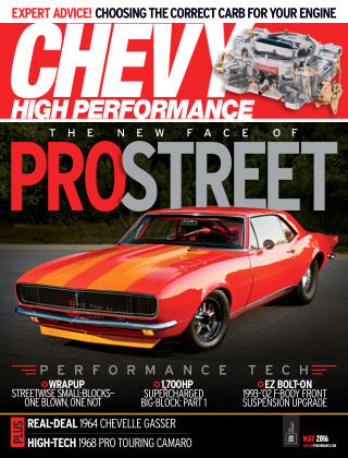 Chevy High Performance May 2016