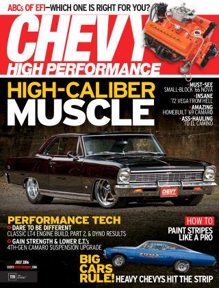 Chevy High Performance Jul 2016