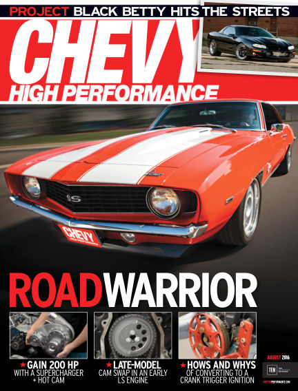 Chevy High Performance May 27, 2016 00:00