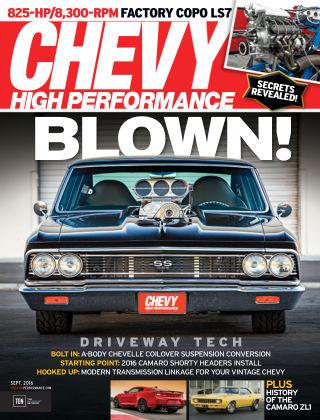 Chevy High Performance Sep 2016