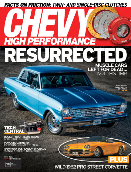 Chevy High Performance July 29, 2016 00:00