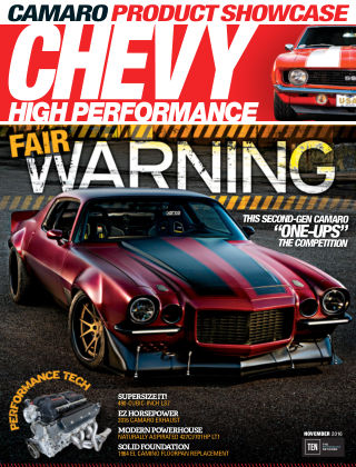 Chevy High Performance Nov 2016