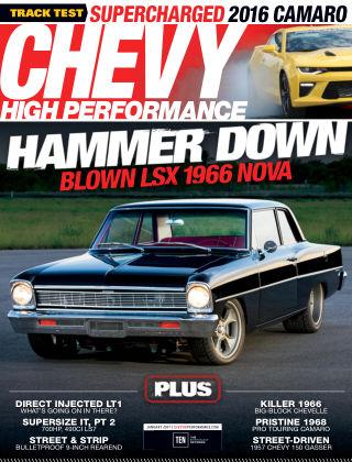 Chevy High Performance Jan 2017