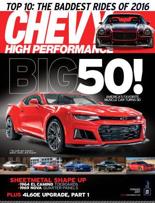 Chevy High Performance Feb 2017