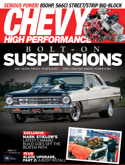 Chevy High Performance January 20, 2017 00:00