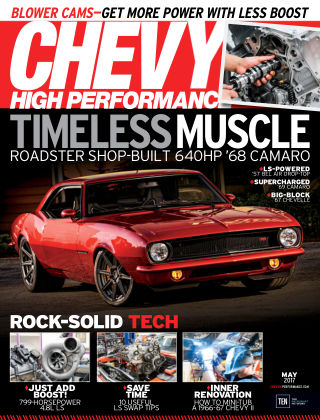 Chevy High Performance May 2017