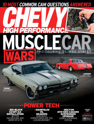 Chevy High Performance Aug 2017