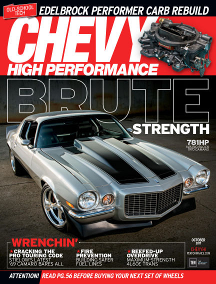Chevy High Performance July 28, 2017 00:00