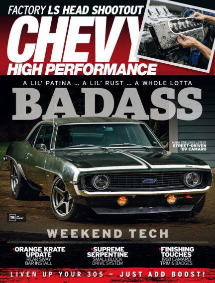Chevy High Performance January 19, 2018 00:00