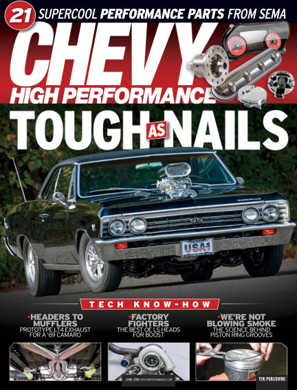 Chevy High Performance March 23, 2018 00:00