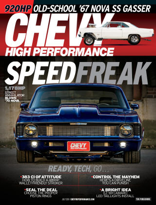 Chevy High Performance Jul 2018