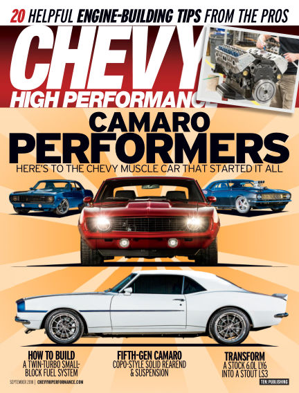 Chevy High Performance June 22, 2018 00:00