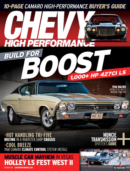 Chevy High Performance August 24, 2018 00:00