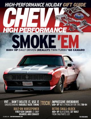 Chevy High Performance Dec 2018