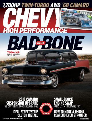 Chevy High Performance Jan 2019