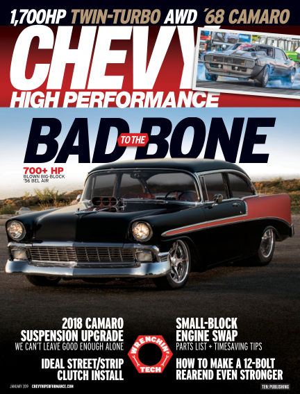 Chevy High Performance October 26, 2018 00:00