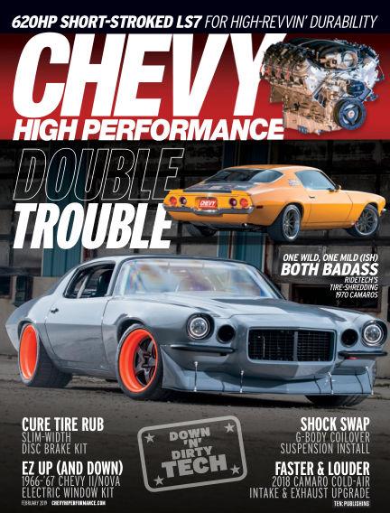 Chevy High Performance November 30, 2018 00:00