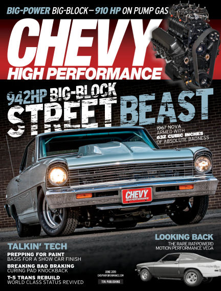 Chevy High Performance March 22, 2019 00:00