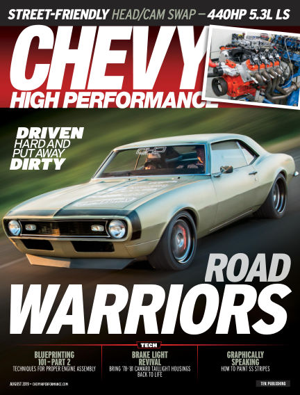 Chevy High Performance May 24, 2019 00:00