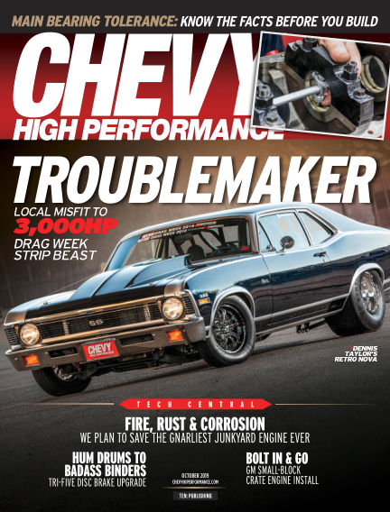 Chevy High Performance July 26, 2019 00:00