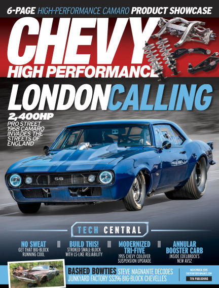 Chevy High Performance August 23, 2019 00:00