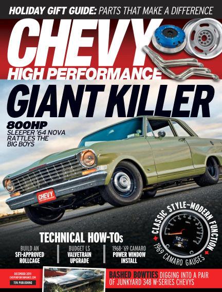 Chevy High Performance September 20, 2019 00:00