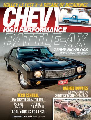 Chevy High Performance Mar 2020