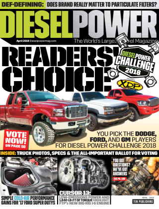 Diesel Power Apr 2018