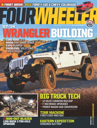 Four Wheeler February 2015