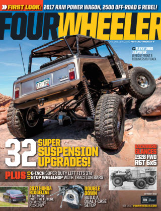 Four Wheeler Oct 2016