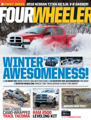 Four Wheeler Jan 2017