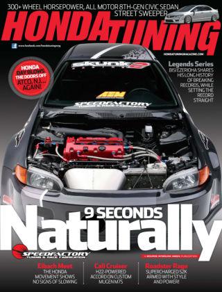 Honda Tuning August 2013