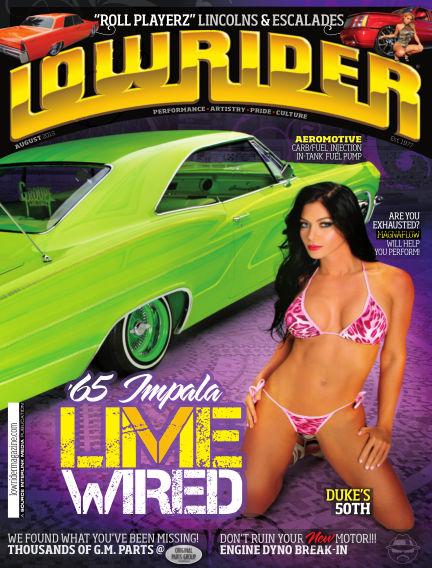Lowrider June 11, 2013 00:00