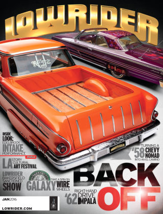 Lowrider January 2016