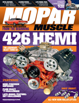 Mopar Muscle August 2014