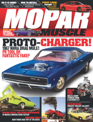 Mopar Muscle January 2015