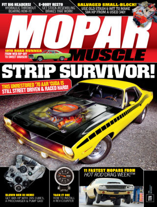 Mopar Muscle July 2015
