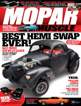 Mopar Muscle Mar 2016