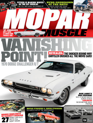 Mopar Muscle Aug 2016
