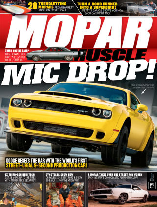 Mopar Muscle Aug 2017