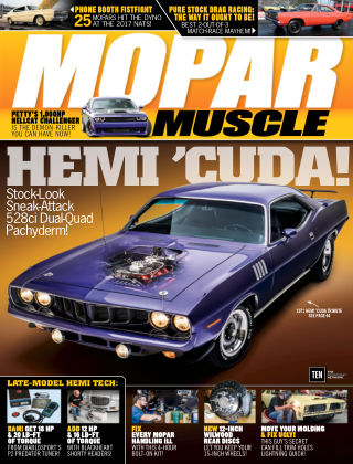 Mopar Muscle Mar 2018