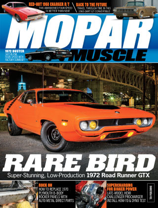 Mopar Muscle May 2019