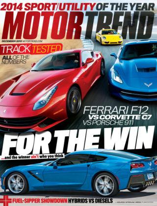 Motor Trend December 2013
