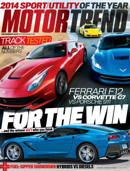 Motor Trend November 05, 2013 00:00