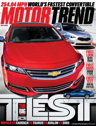 Motor Trend July 2013