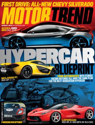 Motor Trend August 2013