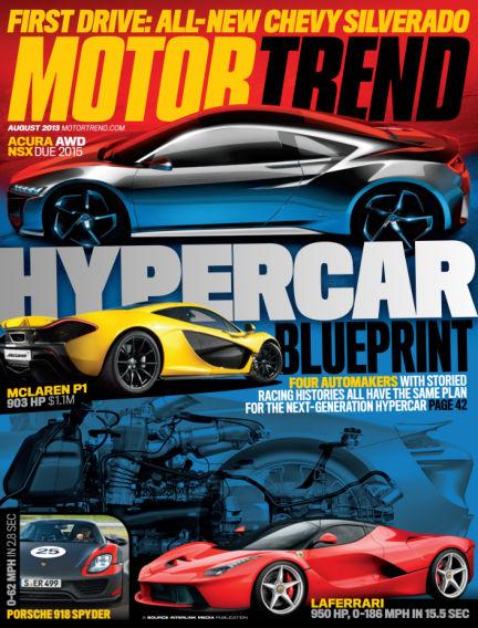 Motor Trend July 02, 2013 00:00