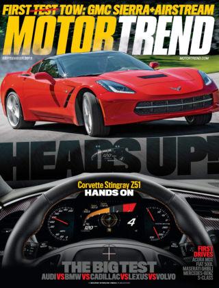 Motor Trend September 2013
