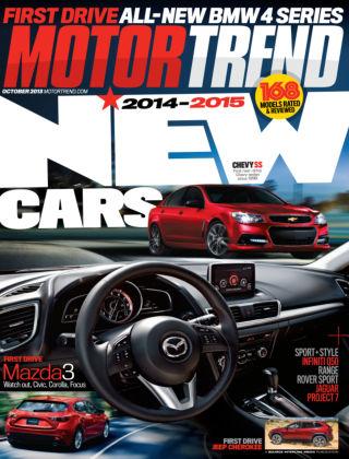 Motor Trend October 2013
